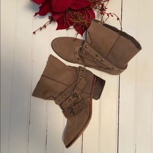 Decree Boots Western Style Light Brown Tan Size 7